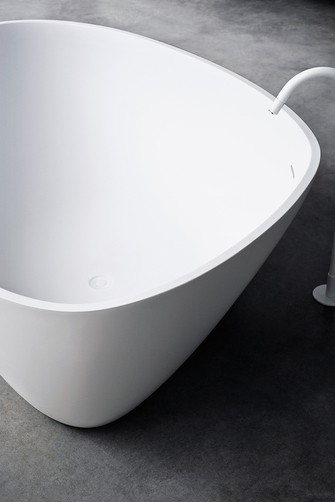 Agape Ванна отдельностоящая Drop 195х129х57.5