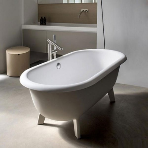 Agape Ванна отдельностоящая Ottocento Small 155х77.5х58
