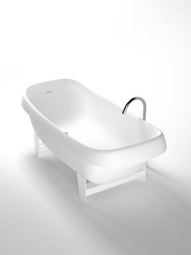 Agape Ванна отдельностоящая Pear Cut 178х83х65