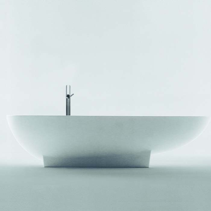 Agape Ванна из искусственного камня Spoon 182x99x45