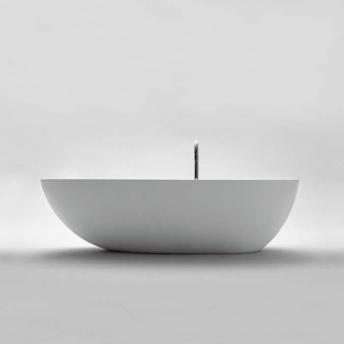 Agape Ванна из искусственного камня Spoon XL 180.9x98.5x49