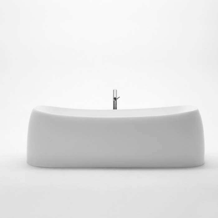 Agape Ванна из искусственного камня Pear 184x93x58