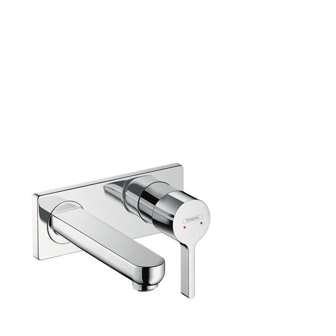 Hansgrohe Metris S Смеситель для раковины, однорычажный, излив 165 мм, СМ