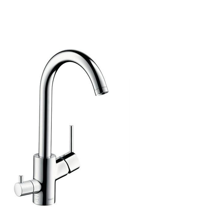 Hansgrohe Talis S² Смеситель для кухни Variarc, однорычажный, с запорным вентилем для посудомоечной машины, ½'