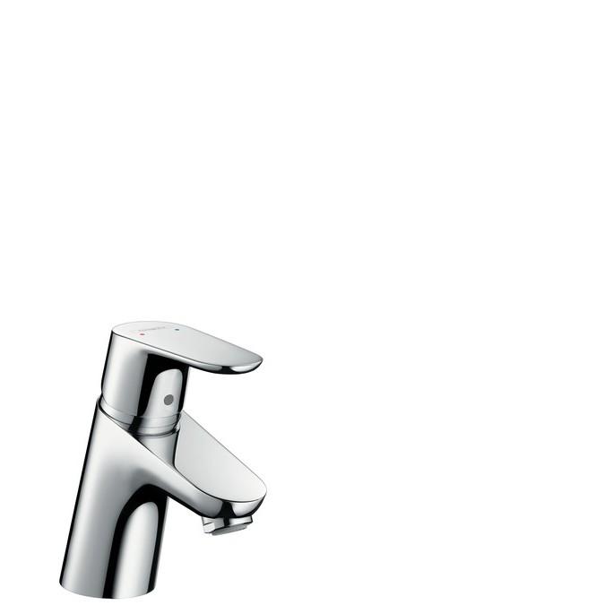Hansgrohe Focus Смеситель для раковины, однорычажный, со сливным гарнитуром