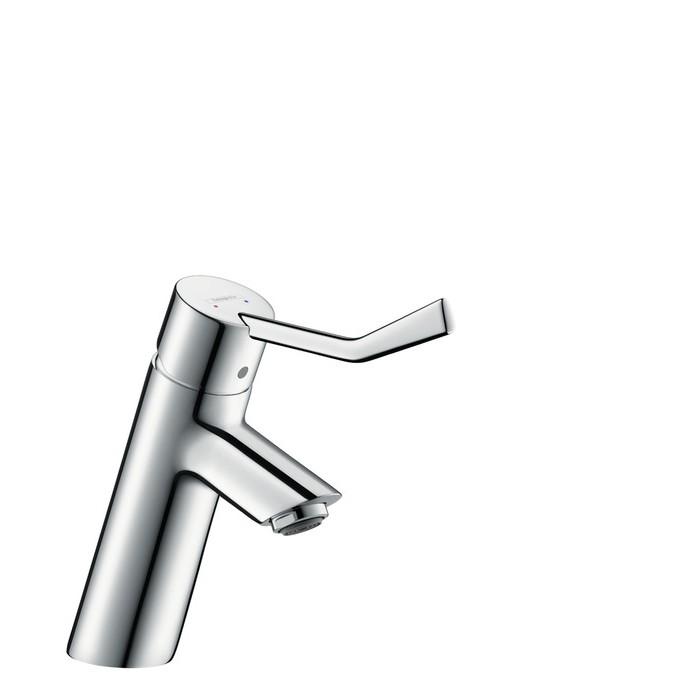 Hansgrohe Talis Смеситель для раковины, однорычажный, ½', длинный рычаг, со сливным гарнитуром