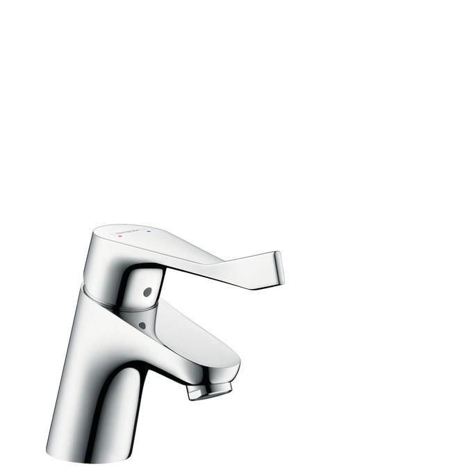 Hansgrohe Focus Смеситель для раковины 70, без сливного гарнитура, с длинной ручкой