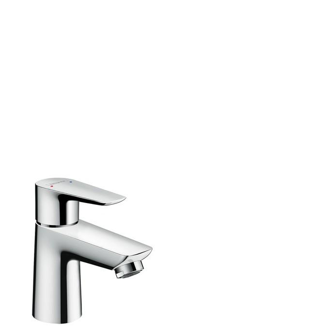 Hansgrohe Talis E Смеситель для раковины 80, однорычажный, для водонагревателей открытого типа со сливным гарнитуром