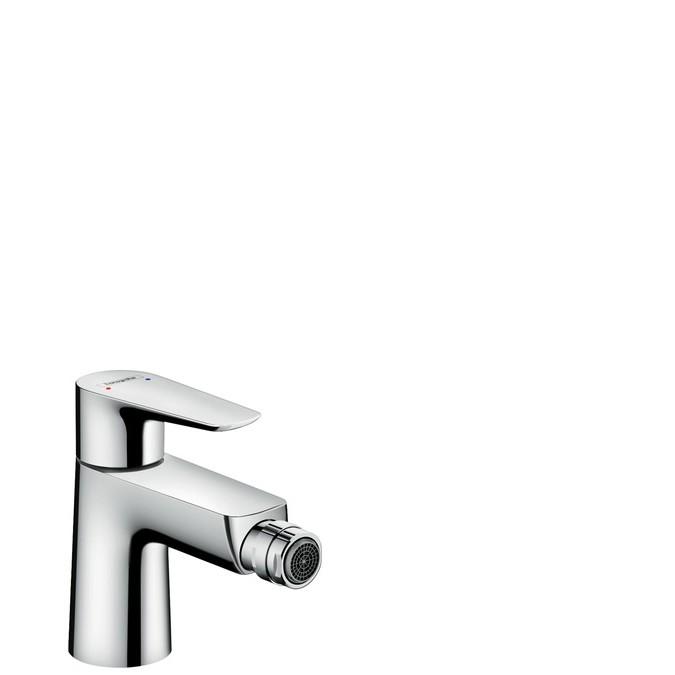 Hansgrohe Talis E Смеситель для биде, однорычажный, со сливным клапаном push-open