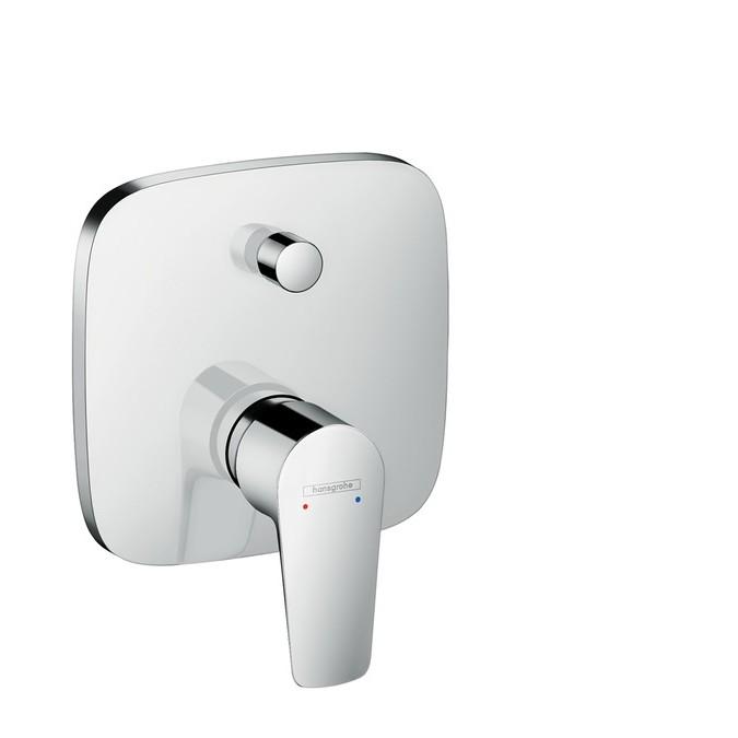 Hansgrohe Talis E Смеситель для ванны, однорычажный, СМ, со встроенной защитной комбинацией