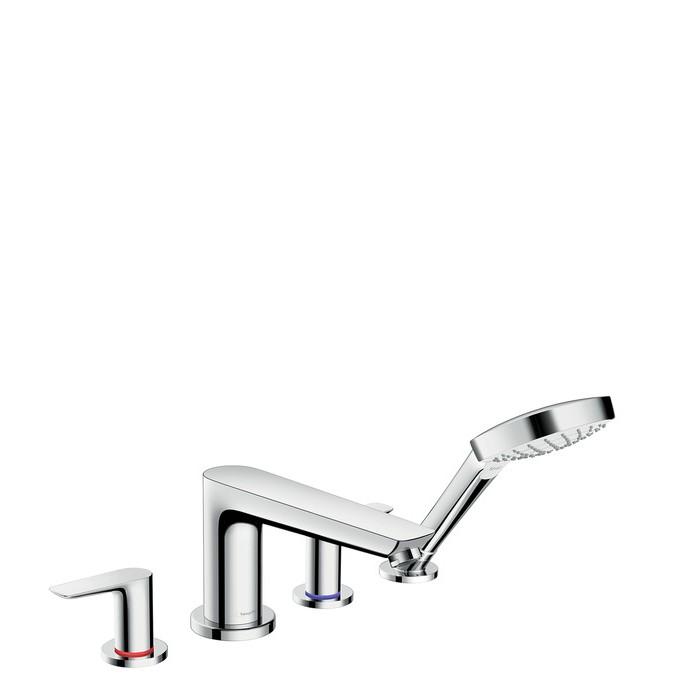 Hansgrohe Talis E Смеситель на край ванны, на 4 отверстия
