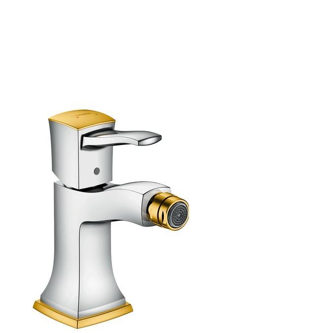 Hansgrohe Metropol Classic Смеситель для биде однорычажный, с рычаговой рукояткой, со сливным гарнитуром