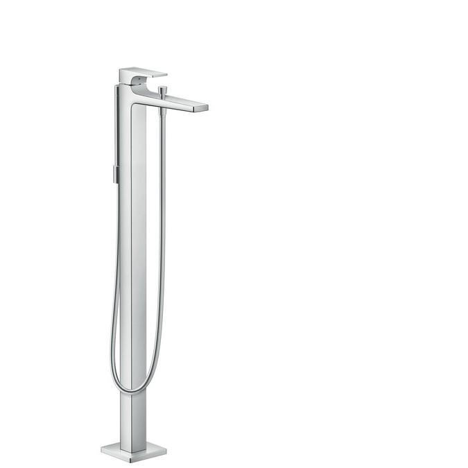 Hansgrohe Metropol Смеситель для ванны, однорычажный, с рычаговой рукояткой