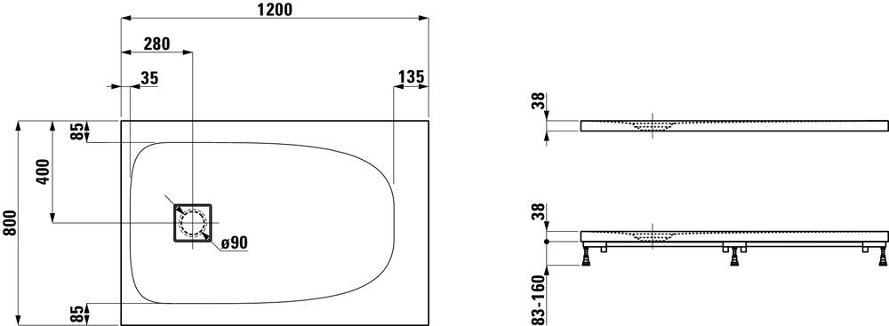 Laufen Дизайнерские коллекцииSOLUTIONS 215441