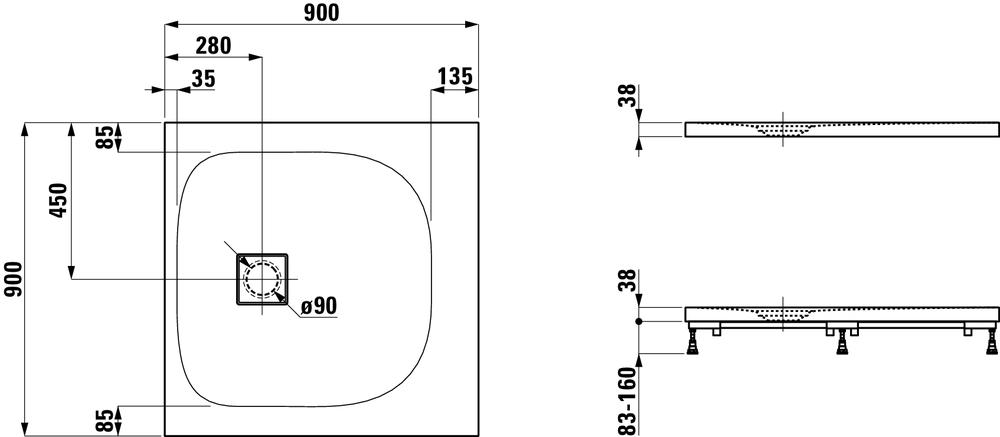 Laufen Дизайнерские коллекцииSOLUTIONS 215442