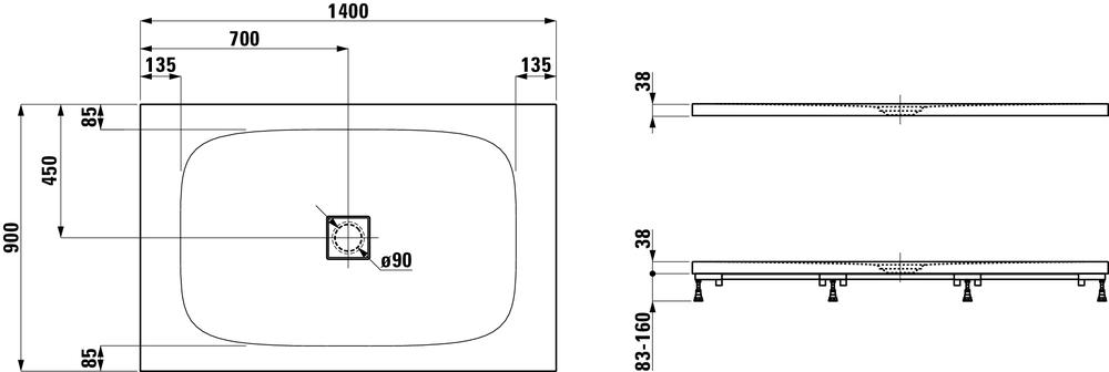 Laufen Дизайнерские коллекцииSOLUTIONS 215445