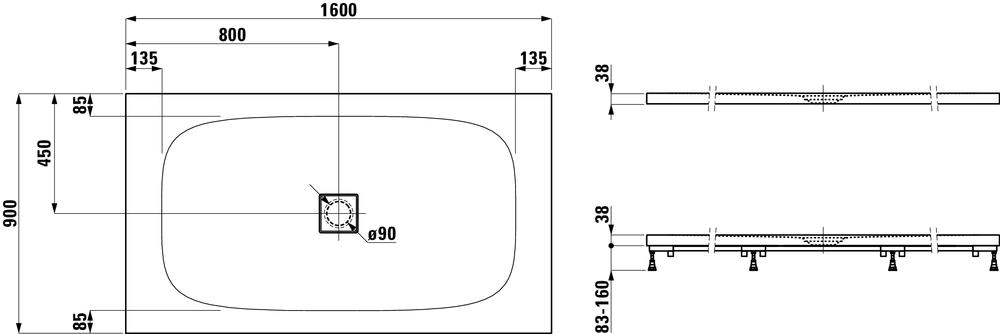 Laufen Дизайнерские коллекцииSOLUTIONS 215446