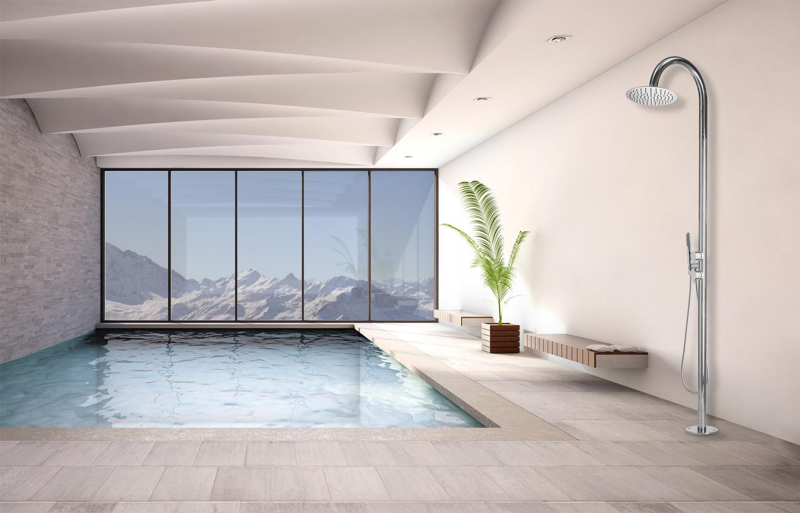 Bossini Twiggy Floor - Rubinetto calda & fredda L00844