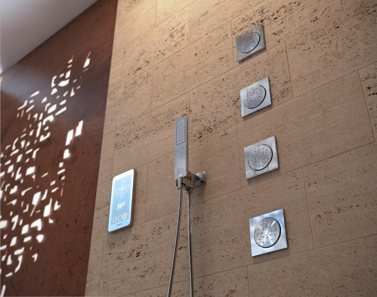 Bossini Смеситель Термостатический EEIKON 4 - Lights