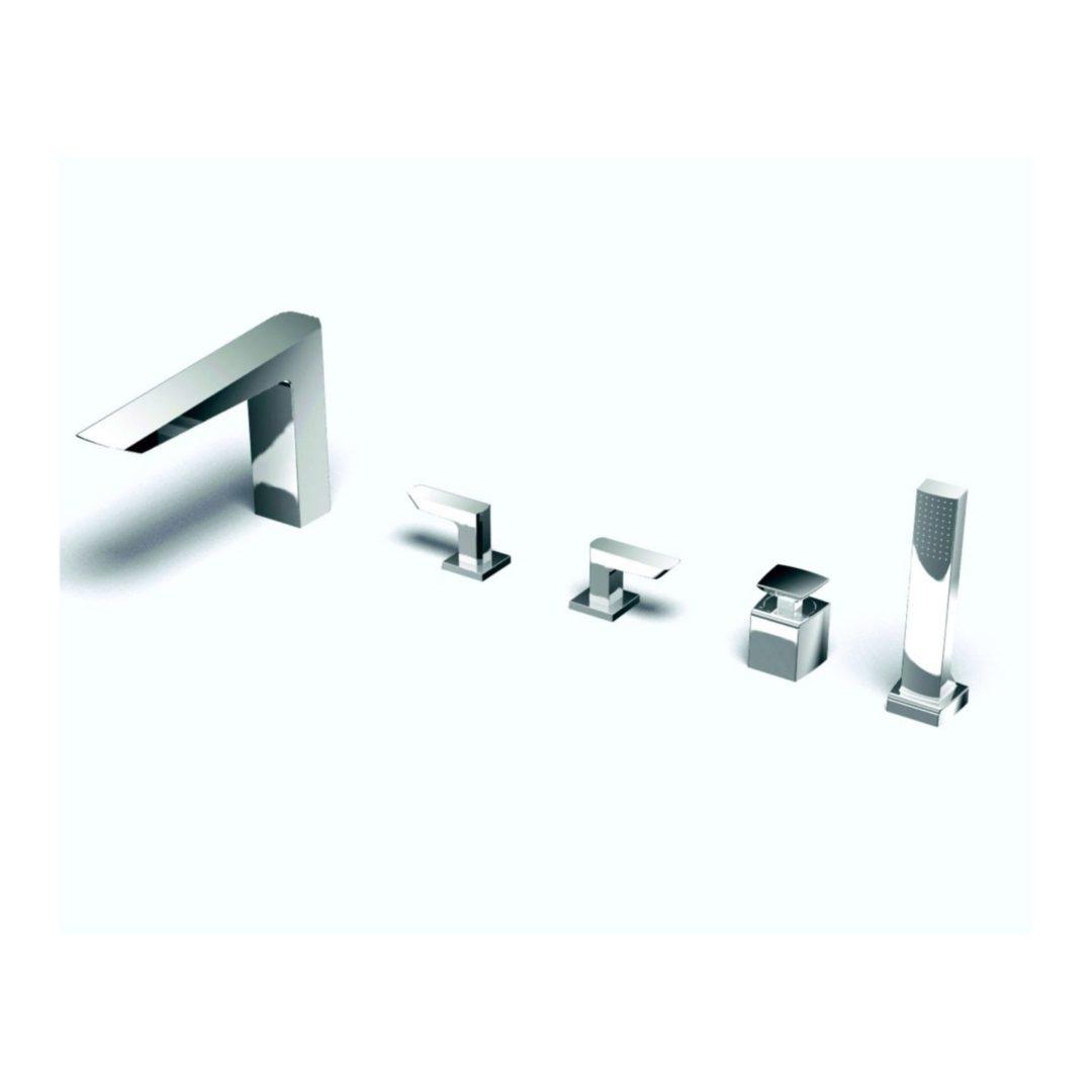 TOTO Смеситель для наполнения ванны и душа с 5 отверстиями под смесители