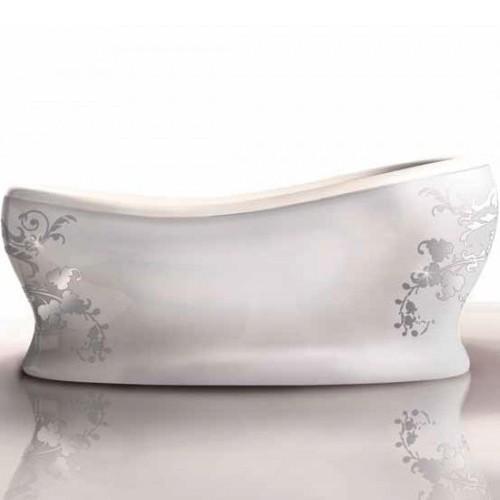 Gruppo Treesse ванна с панелями V5031 Epoca Egg с декором Lady