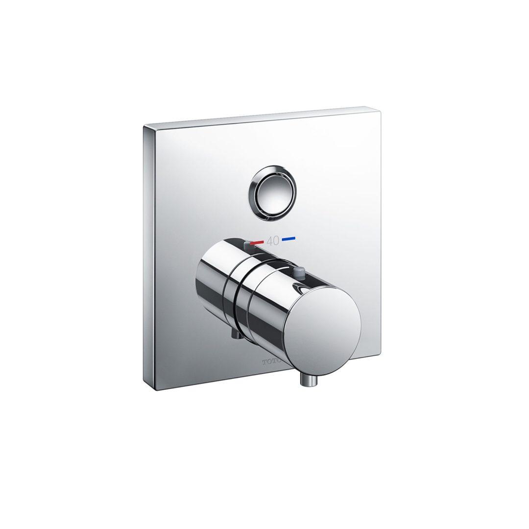 TOTO Термостатический душевой смеситель с 2-у сторонним переключением скрытого монтажа