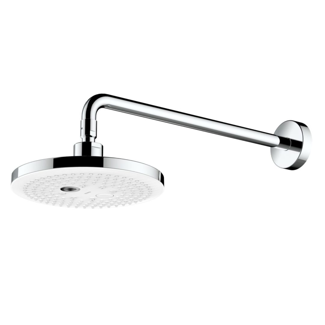TOTO Верхний душ с 2 видами струй 220 мм, круглый, настенный монтаж