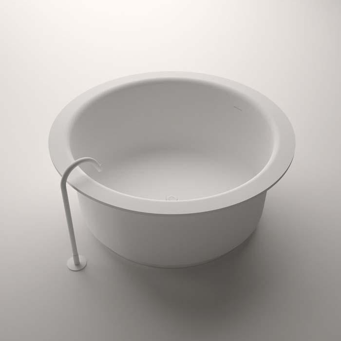 Agape Ванна из искусственного камня In-Out 152.5x152.5x64