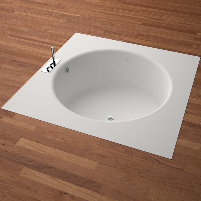 Agape Ванна из искусственного камня встраиваемая In-Out 170x170x64