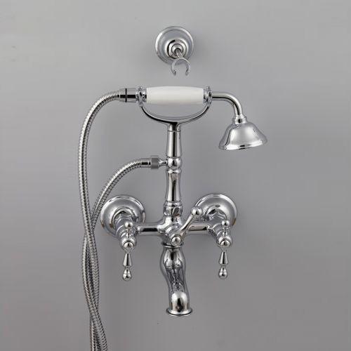 Cisal Arcana America Смеситель для ванны и душа с душевым комплектом, хром