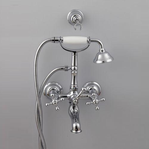 Cisal Arcana Ceramic Смеситель для ванны и душа, с душевым комплектом, хром