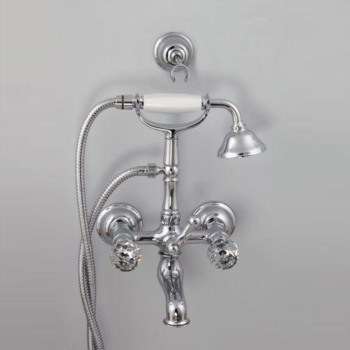 Cisal Arcana Regency Смеситель для ванны и душа, с душевым комплектом,хром