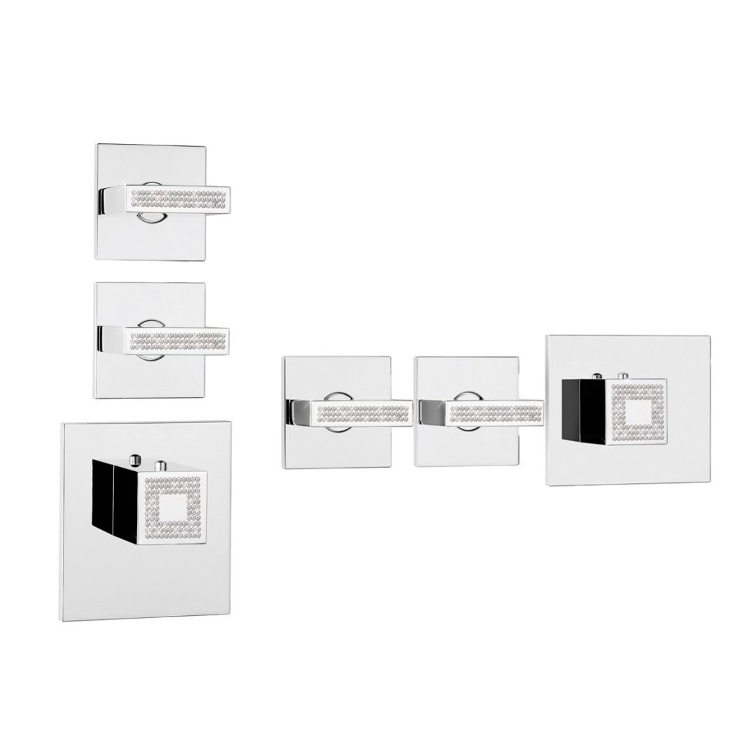 Bossini Rectangular 2/3 Outlets Z033203-050