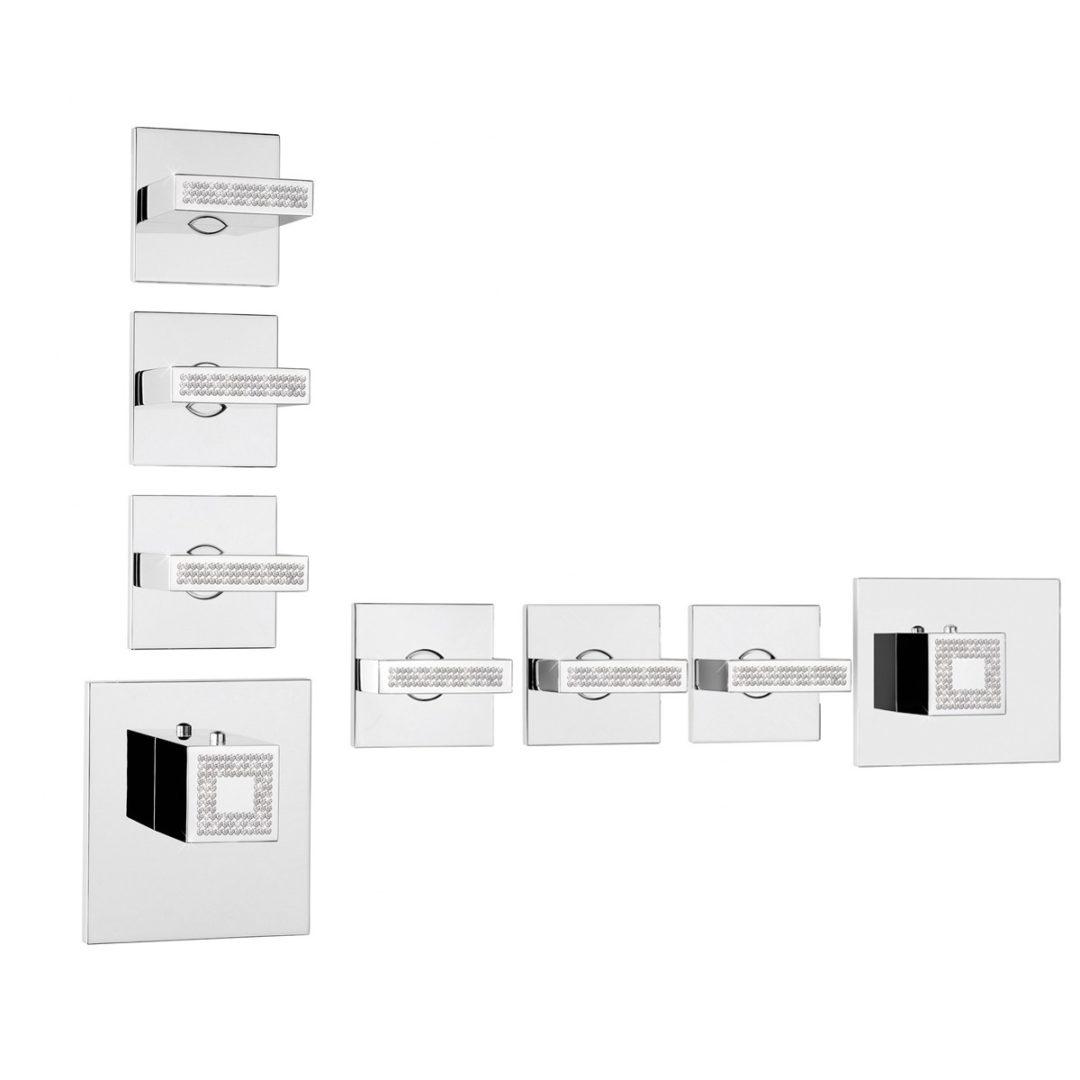 Bossini Rectangular 3 Outlets Z033205-050