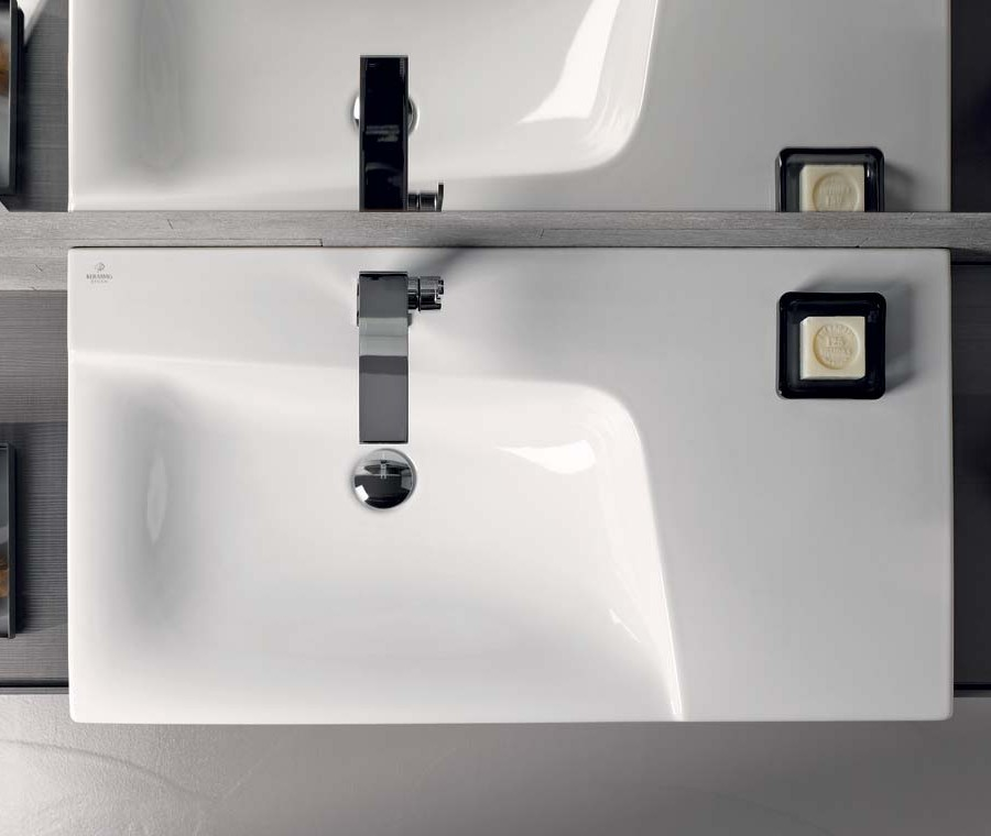 Keramag мебель для ванной комнаты 900х270х480 мм с подсветкой Xeno²