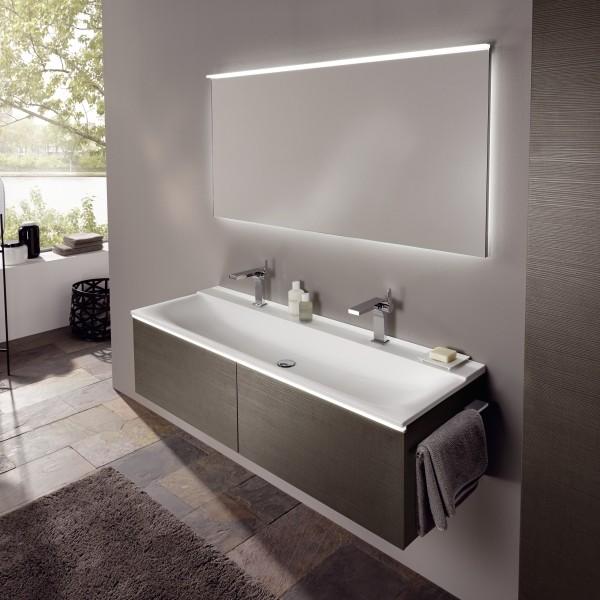 Keramag мебель для ванной комнаты 1400х400х480 мм с 2 ящиками с подсветкой Xeno²