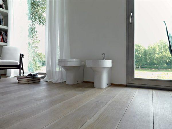 Cento Kerasan Унитаз соло, модель овальная с сидением Soft&Close  54смx35смx34,5 см