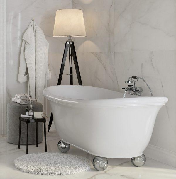 АLBA Salini S.R.L.  Ванна  1730x900x747 мм цвет : Белый
