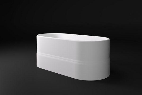 CIRA Salini S.R.L.  Ванна  1737x774x550 мм цвет : Белый