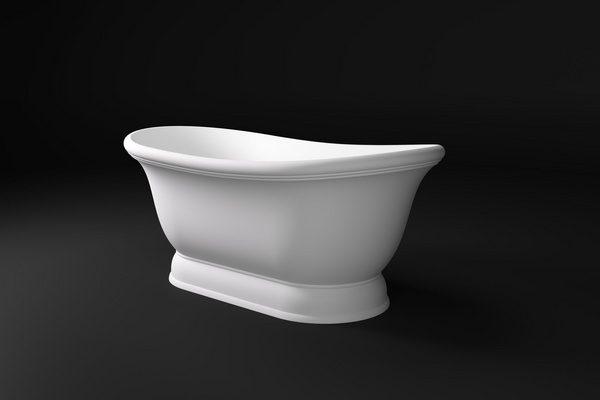 ETTORA Salini S.R.L.  Ванна  1770x892x575 мм цвет : Белый