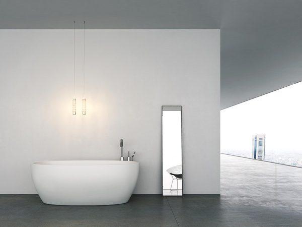LUCE Salini S.R.L.  Ванна  1775x890x650 мм цвет : Белый