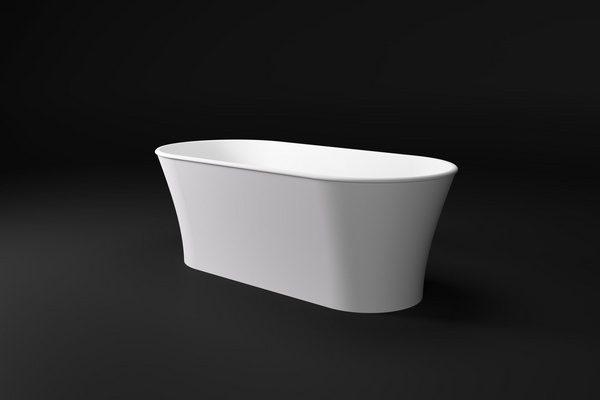 ZOE Salini S.R.L.  Ванна  1764x830x650 мм цвет : Белый