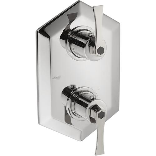 Cisal Cherie Термостатический смеситель с переключателем на 2 положения, встраиваемый, хром